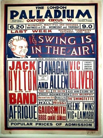1937 Jun 21 Swing is in the Air
