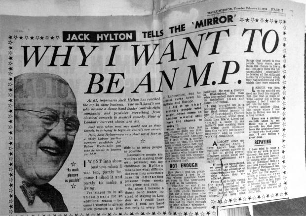 Daily Mirror, February 1954